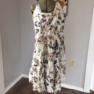 J CREW FLORAL DRESS SIZE 0